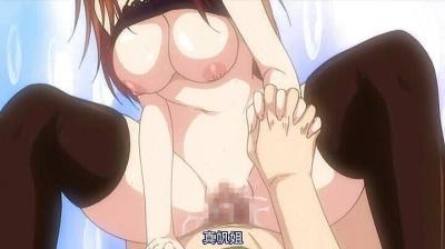 Big tit hentai stepsister rides cock