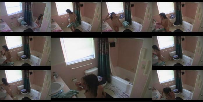 Hidden cam, spying video, locker rooms camera, shower rooms, solarium, beach cabins real hidden shower _346_