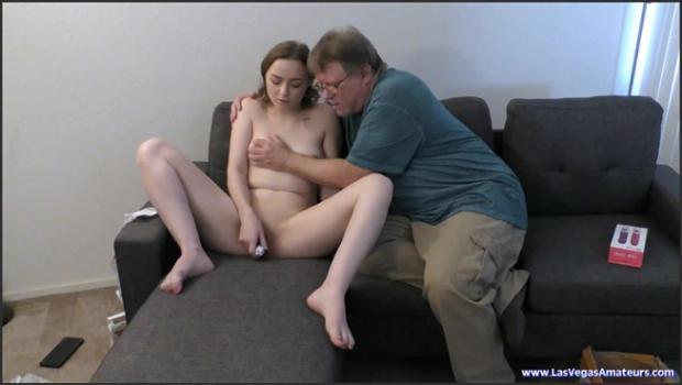 Lasvegasamateurs.com- 4K Ashley White - Daddy Bought A Sex Toy Company