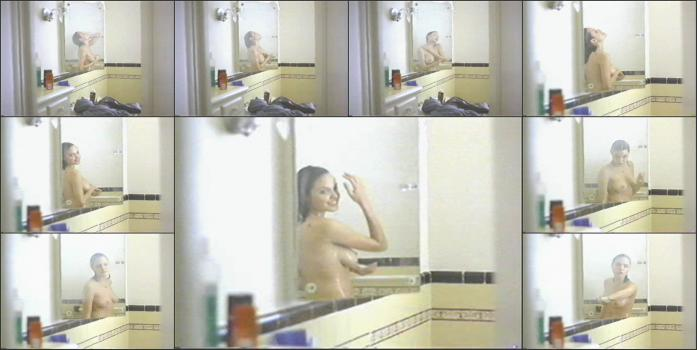 Hidden cam, spying video, locker rooms camera, shower rooms, solarium, beach cabins real hidden shower _10_