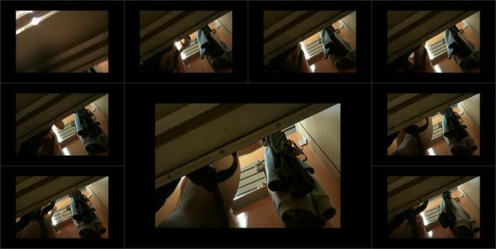 Hidden cam, spying video, locker rooms camera, shower rooms, solarium, beach cabins real hidden shower _49_
